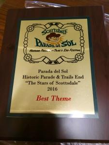 Parada del Sol 2016 Best Theme