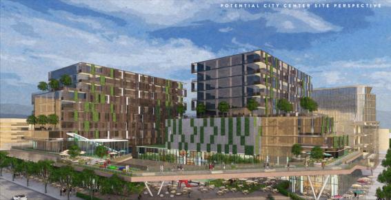 City Center concept courtesy City of Scottsdale
