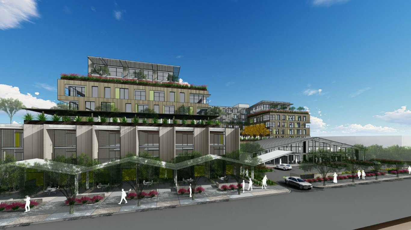 Artist rendering of The Kimsey in Old Town Scottsdale.