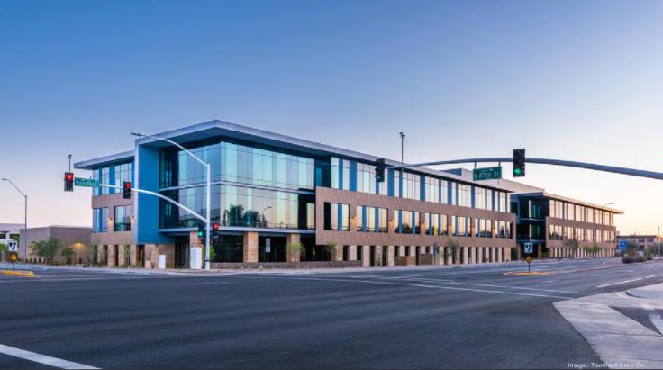 Axis Raintree building in north Scottsdale